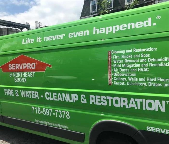 SERVPRO of Northeast Bronx Equipment Truck