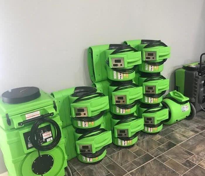 SERVPRO of Northeast Bronx Equipment